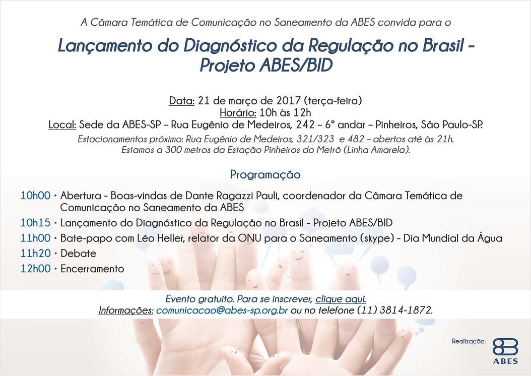 Lançamento do Diagnóstico da Regulação no Brasil - Projeto ABESBID - Cópia